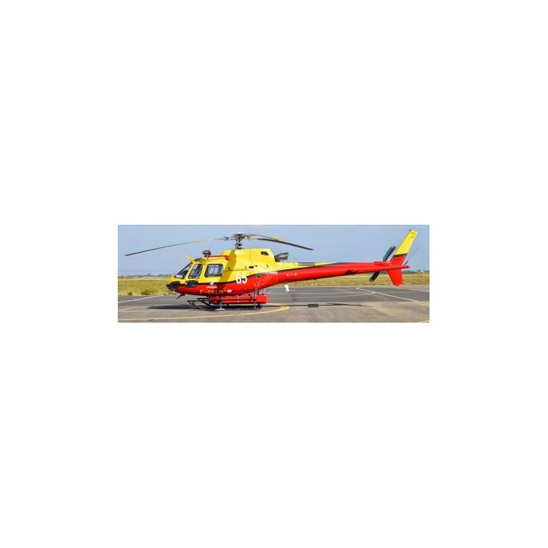 Hélicoptère AS 350 Ecureuil Pompier SDIS 06 (PRÉCOMMANDE*)