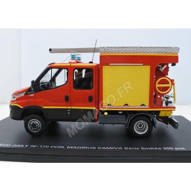 Iveco Daily CCIRL Pompier + décals SDIS 28, 36, 41, 45