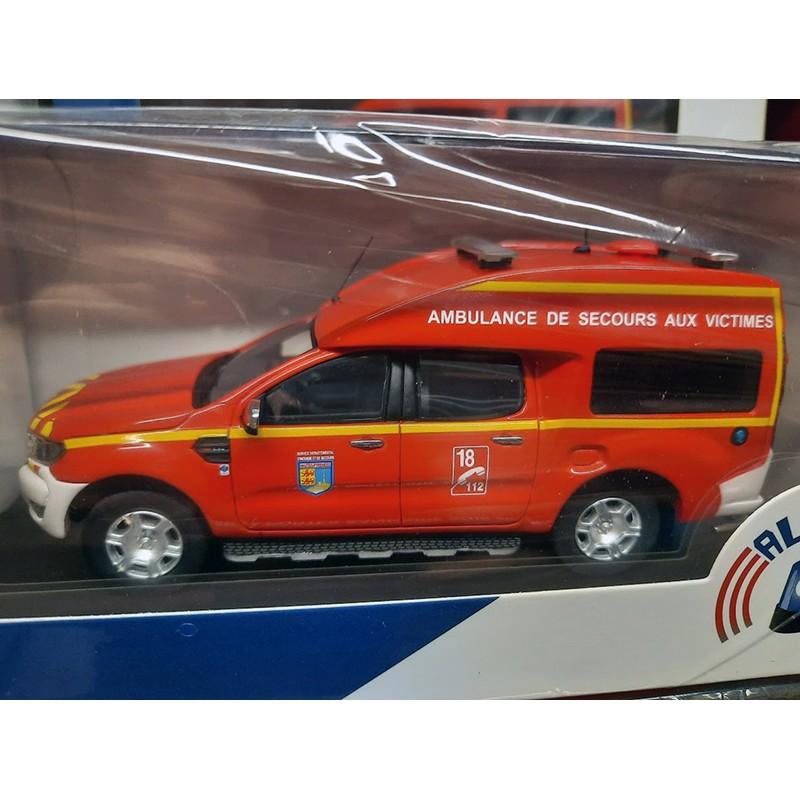 Ford Ranger BSE ASV Pompier SDIS 65