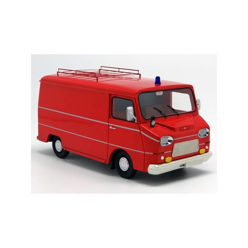Citroën HY Heuliez 1970 Pompier (surboîte carton état moyen)