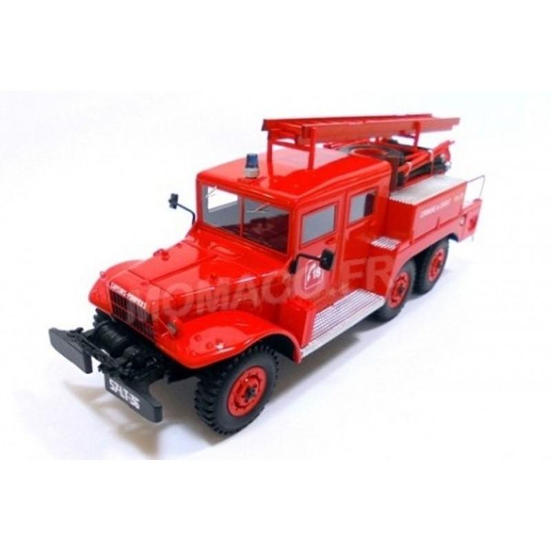 Dodge 6x6 Double cabine Pompier SDIS 36