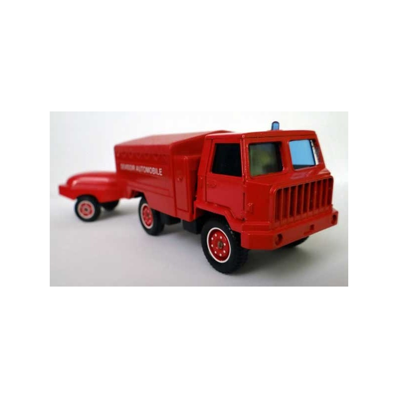 Berliet FF Dévidoir automobile + motopompe Guinard Pompier