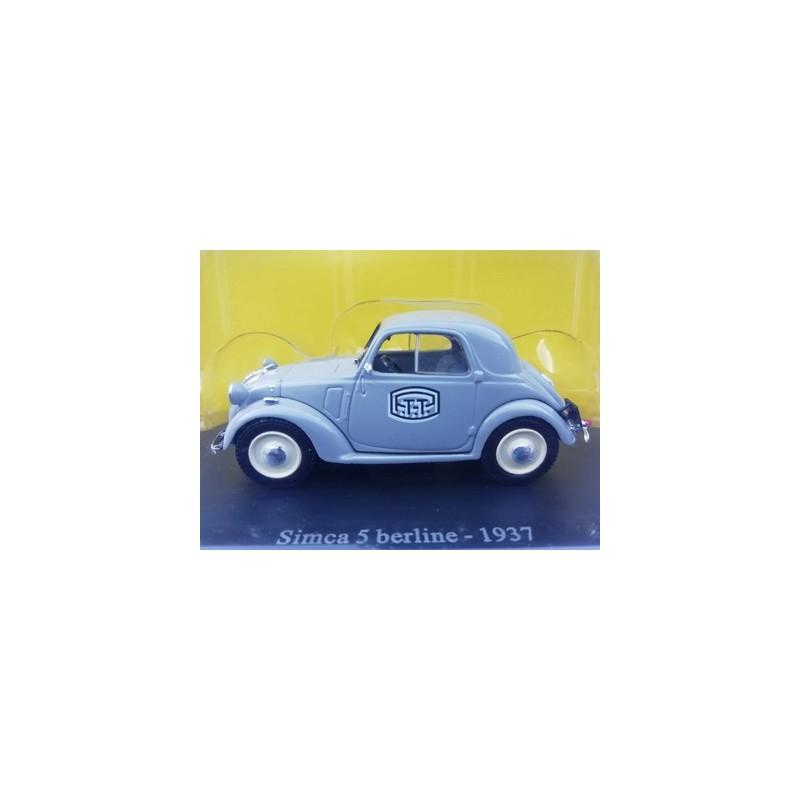 Simca 5 berline 1937 PTT