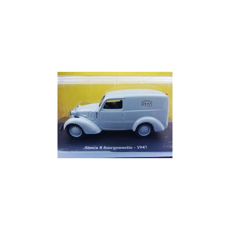 Simca 8 fourgonnette 1947 PTT