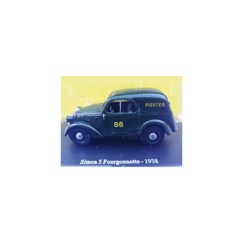 Simca 5 commerciale 1938 Postes
