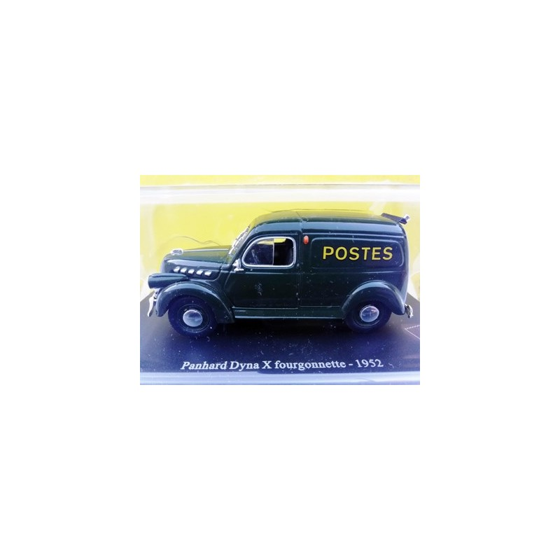 Panhard Dyna X fourgonnette 1952 Postes