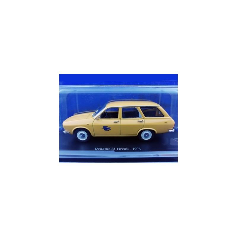 Renault 12 break Postes