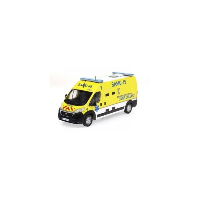 Fiat Ducato Ambulance SAMU 45