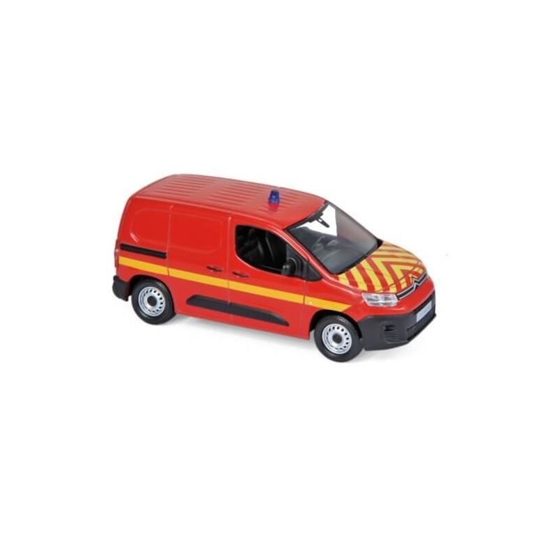 Citroën Berlingo Van 2018 Pompier