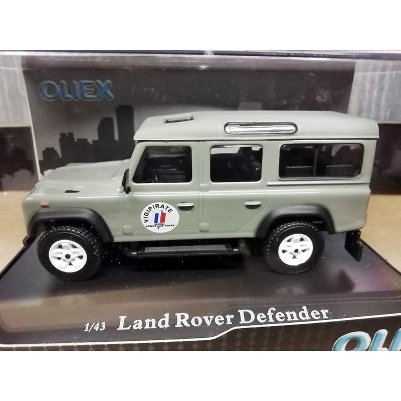 Land Rover Defender Mission Vigipirate