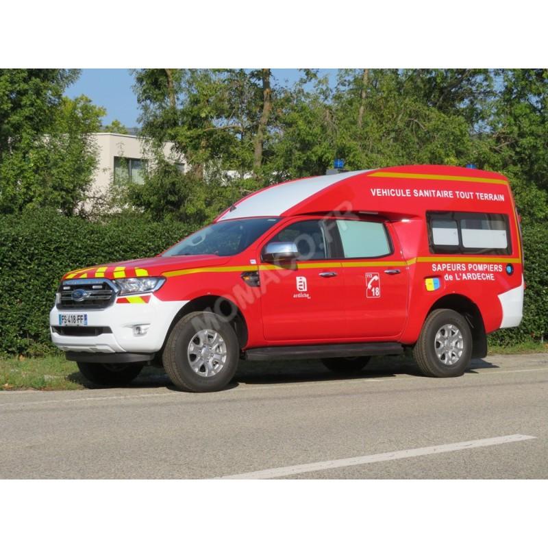 Ford Ranger BSE VSTT Pompier SDIS 07 (PRÉCOMMANDE*)