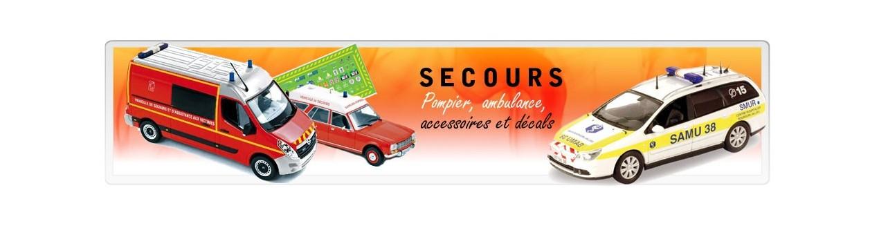 Voiture miniature Pompier et secours – Autos miniatures 43QuaideJavel