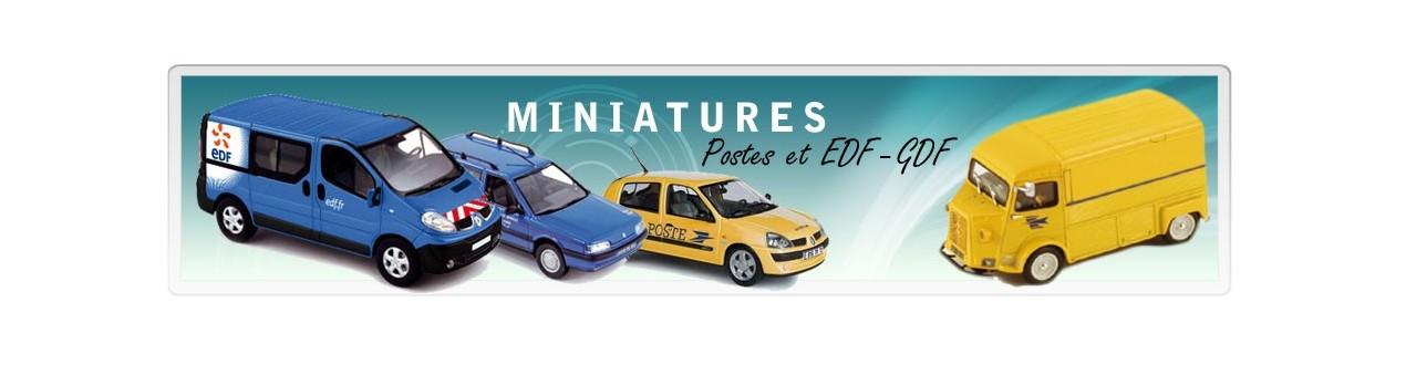 Voiture miniature Poste EDF et DDE DIR – Autos miniatures 43QuaideJavel