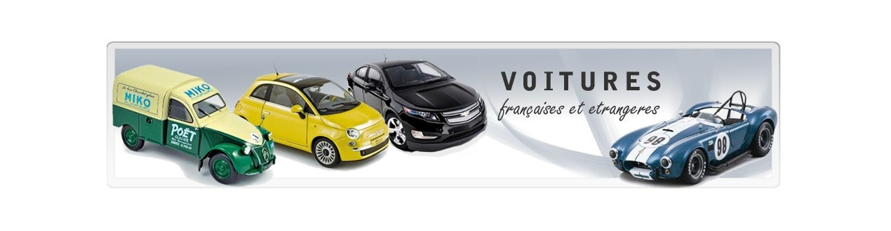 Voiture miniature – Autos miniatures 43QuaideJavel